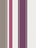 75621 Rico Stripe is a beautiful Purple / White Stripe Blown Wallpaper from Holden Decor