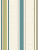 75662 Dominica Stripe is a beautiful Teal / White Stripe Blown Wallpaper from Holden Decor