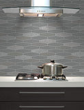 89273 Apex Tile is a beautiful Grey Tile Effect Blown Wallpaper from Holden Decor