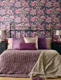97832 Cordelia is a beautiful Purple Floral Wallpaper from Holden Decor