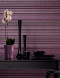 97973 Mayim Stripe is a beautiful Purple / Red Stripe Wallpaper from Holden Decor