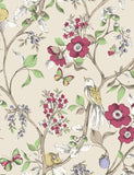 98102 Damsen is a beautiful Neutral / Multi Floral Wallpaper from Holden Decor