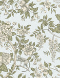 98114 Bertuccia is a beautiful Duckegg Floral Wallpaper from Holden Decor