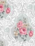 98152 Brigitte is a beautiful Red Floral Wallpaper from Holden Decor