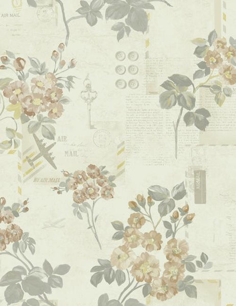 98330 Athene is a beautiful Neutral Floral Wallpaper from Holden Decor