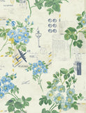 98333 Athene is a beautiful Blue Floral Wallpaper from Holden Decor