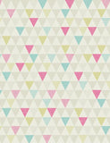 98342 Oslo is a beautiful Pink / Green Geometric Wallpaper from Holden Decor
