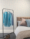 98343 Oslo is a beautiful Blue Geometric Wallpaper from Holden Decor