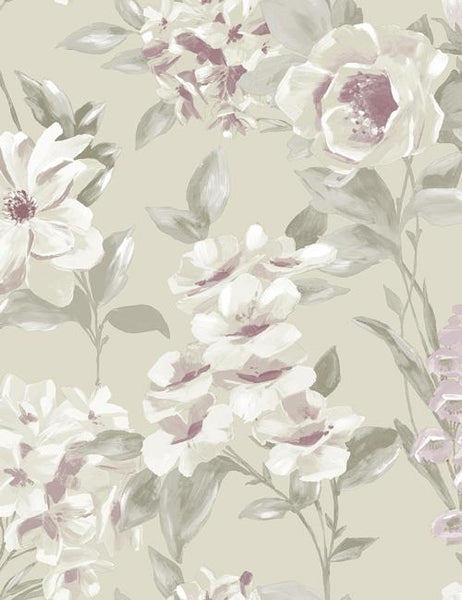 98360 Petula is a beautiful Neutral Floral Wallpaper from Holden Decor
