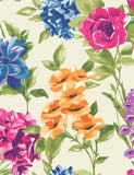 98361 Petula is a beautiful White / Multi Floral Wallpaper from Holden Decor