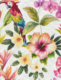 98430 Bird of Paradise is a beautiful White Bird Wallpaper from Holden Decor