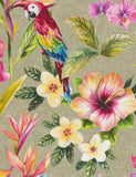 98431 Bird of Paradise is a beautiful Gold Bird Wallpaper from Holden Decor