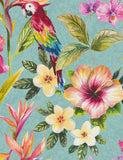 98433 Bird of Paradise is a beautiful Blue Bird Wallpaper from Holden Decor