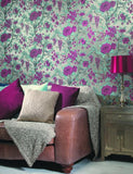 98450 Sumatra is a beautiful Gold Floral Wallpaper from Holden Decor