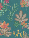 98480 Mulberry is a beautiful Teal Nature Wallpaper from Holden Decor