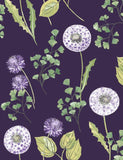 98514 Cassara is a beautiful Purple Floral Wallpaper from Holden Decor