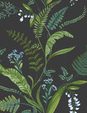 98545 Cembra is a beautiful Grey / Blue Floral Wallpaper from Holden Decor