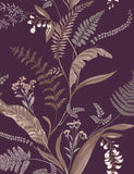 98546 Cembra is a beautiful Purple Floral Wallpaper from Holden Decor