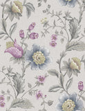 98551 Zinnia is a beautiful Grey / Pink Floral Wallpaper from Holden Decor