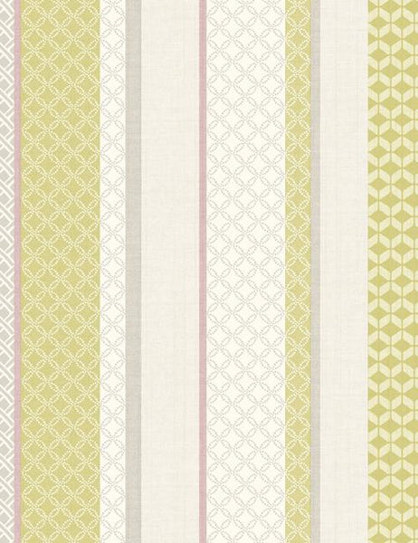 98600 Mika Stripe is a beautiful Multi / Pink Stripe Wallpaper from Holden Decor