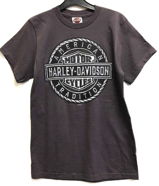 Harley Davidson Rock Shield HarleyWorld Dealer T-Shirt Harley-Davidson®- HarleyShop