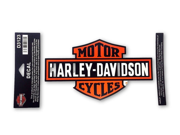 Harley Davidson Long Bar & Shield Medium Decal Harley-Davidson®- HarleyShop