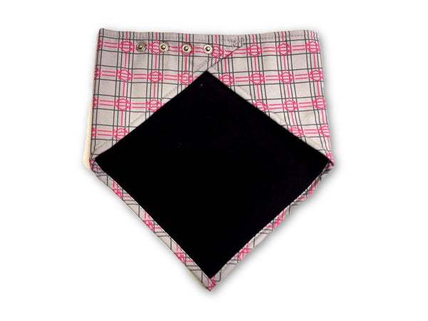 Harley Davidson Ladies 3-in-1 Checked Stone Washed Pink Bandana Harley-Davidson®- HarleyShop