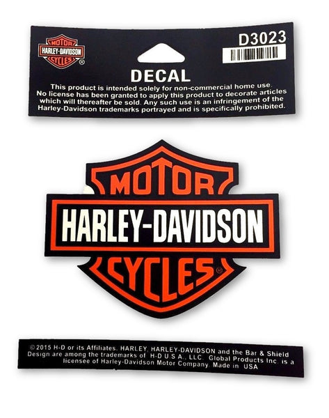 Harley Davidson Bar & Shield Decal Medium Harley-Davidson®- HarleyShop