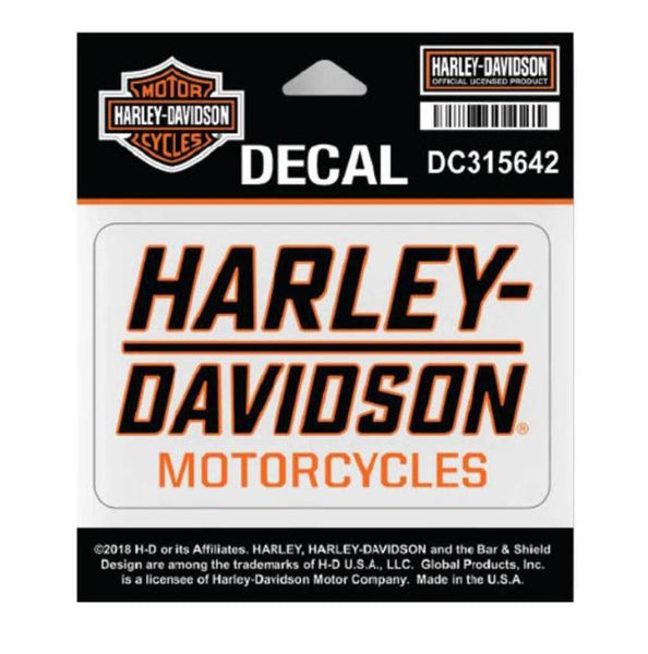 Harley Davidson Traction H-D Decal