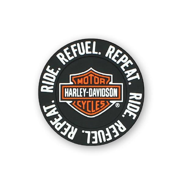 Harley Davidson Ride Refuel Repeat Magnet