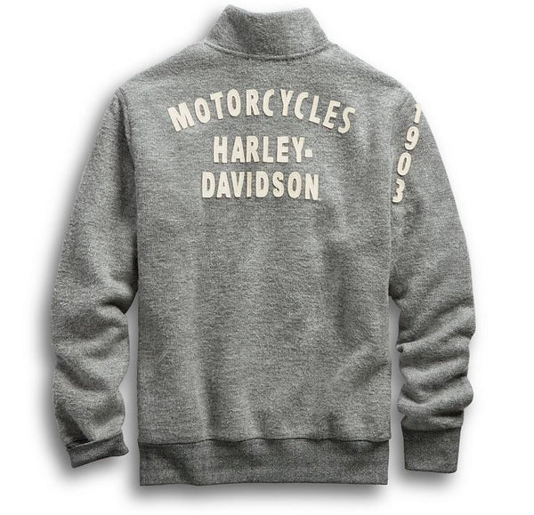 Harley Davidson Sweater Mock Neck Slim Fit