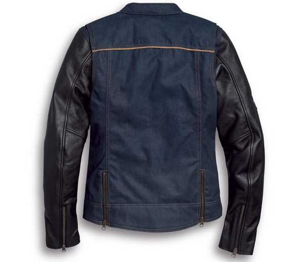 Harley Davidson Women's Arterial Abrasion-Resistant Denim Riding Jacket