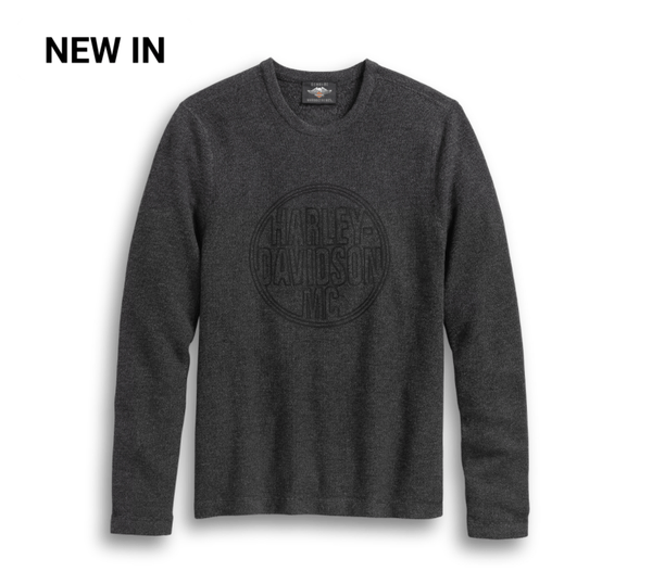 Harley Davidson Men's Circle Logo Sweater 96130-20VM