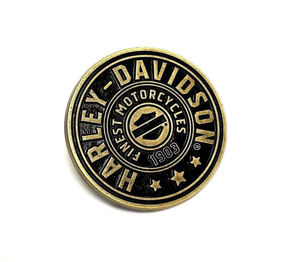 Harley Davidson Shield Die Cast Pin Badge Harley-Davidson®- HarleyShop