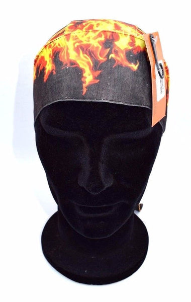 Harley Davidson Men's Flame Combustion Head Wrap