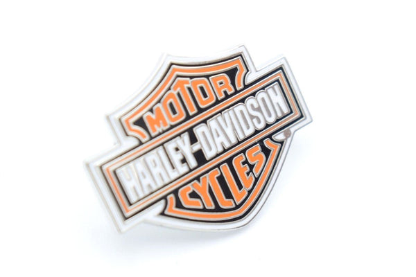 Harley Davidson Chrome Bar & Shield Pin Badge Harley-Davidson®- HarleyShop