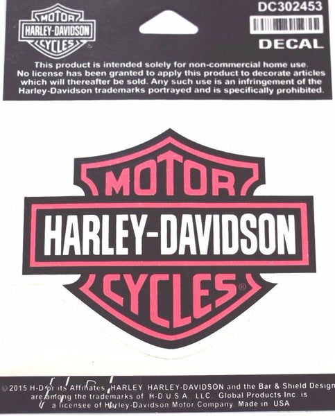 Harley Davidson Bar & Shield Decal Harley-Davidson®- HarleyShop