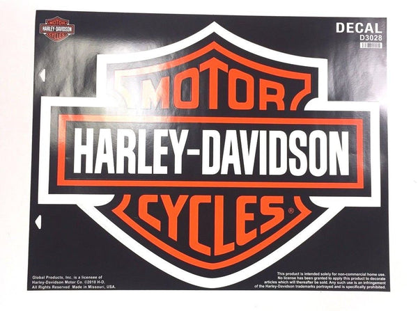 Harley Davidson Bar & Shield Decal X-Large Harley-Davidson®- HarleyShop
