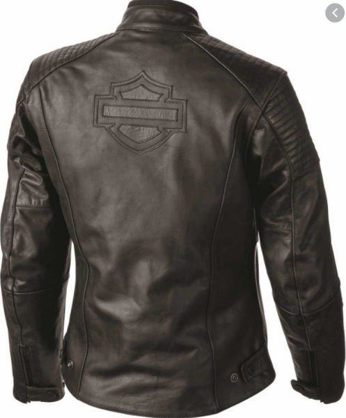 Harley Davidson Women's Vandre Leather Riding Jacket