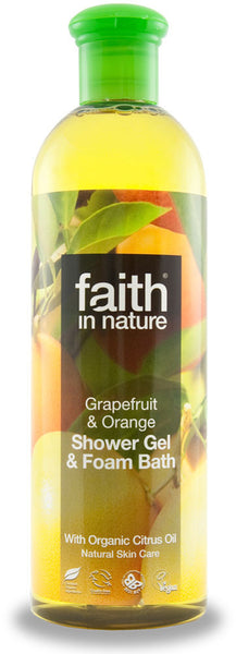Shower gel Grapefrugt & Orange 250 ml.