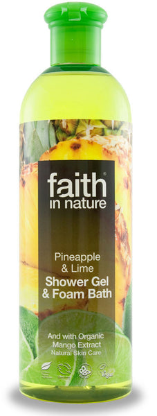 Shower gel Ananas & Lime 250 ml.