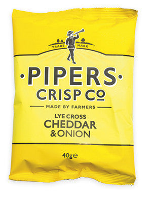 Cheddar & Onion chips 40 gram