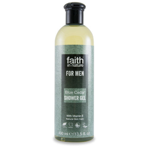 Faith For Men Blue Cedar Shower gel