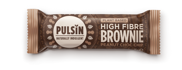 High fibre Brownie Peanut Choc Chip