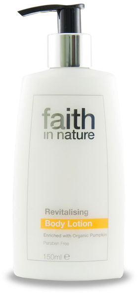 Revitalising body lotion