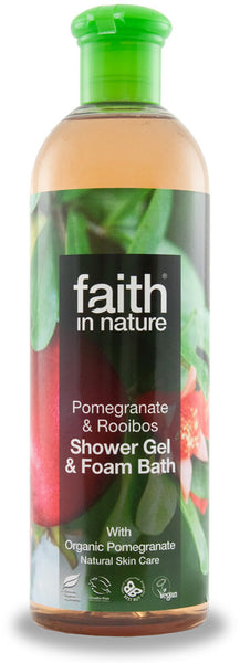 Shower gel Granatæble & Rooibos 250 ml.