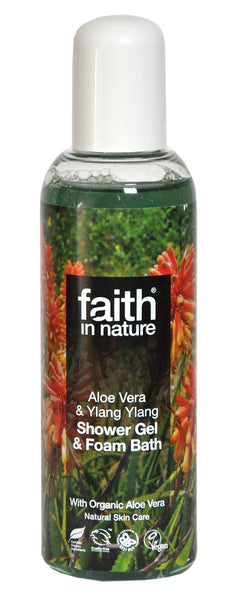 Shower gel Aloe vera & Ylang ylang 100 ml.