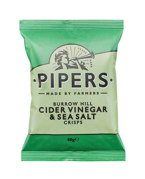 Cider Vinegar & Sea Salt chips 40 g