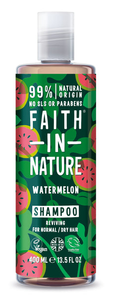 Vandmelon shampoo 400 ml fra faith in nature