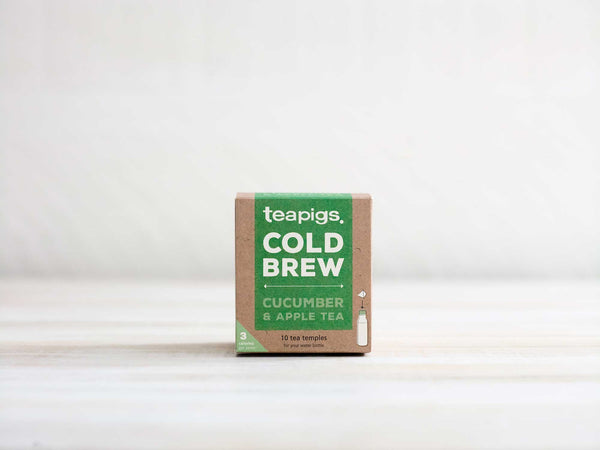 Cucumber & apple cold brew (koldbrygget) - 10 stk.